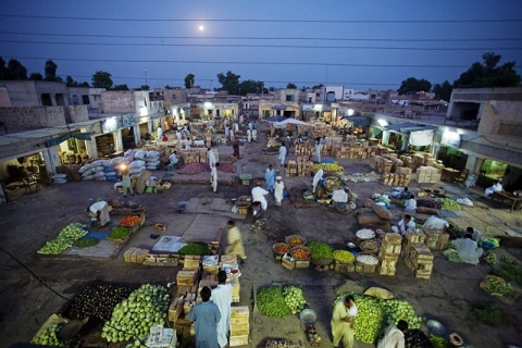 Kamran Ali, Layyah_fruit_vegetable_market