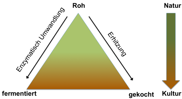 Kulinarisches Dreieck