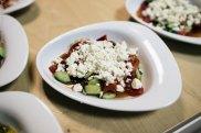 Ein leckerer griechischer Salat von Patrice. photo by © sandrino donnhauser - Photographie & Bildgestaltung - Leipzig - sandrinodonnhauser.de