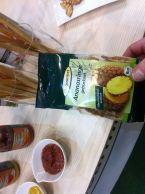 Getrocknete Ananas von Biogourmet.