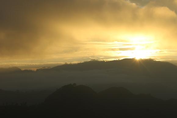 Sunrise at Ellas Rock