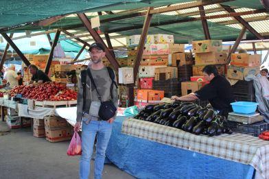 Auf einem Markt in Rumänien